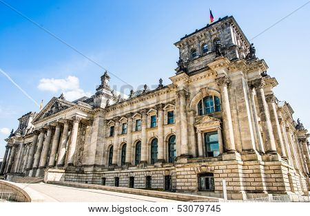 Bundestag (Reichstag) in Berlin, Germany
