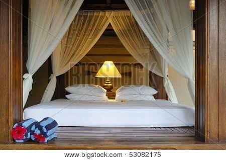 Gazebo At Tropical Resort
