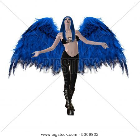 Gothic Blue Angel