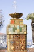 Catalina Tiled Fountain