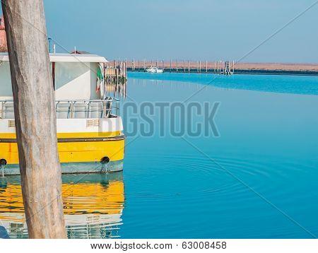 Steamboat In Venice