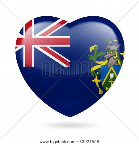 Heart icon of Pitcairn Islands