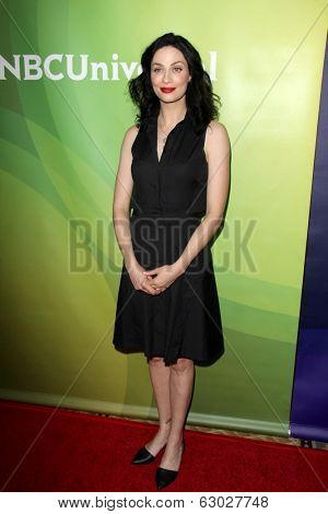 LAS VEGAS - APR 8:  Joanne Kelly at the NBCUniversal Summer Press Day at Huntington Langham Hotel on April 8, 2014 in Pasadena, CA