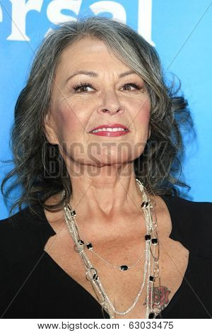 PASADENA - APR 8: Roseanne Barr at the NBC/Universal's 2014 Summer Press Day held at the Langham Hotel on April 8, 2014 in Pasadena, California