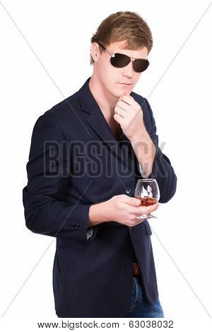 Man In Sunglasses And Jacket