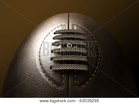 Retro Rugby Ball