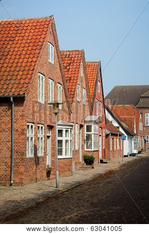 Old streets in Tonder