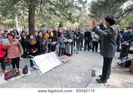 Public Singing
