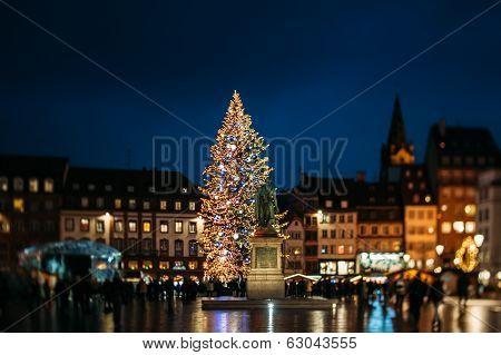 Famous Strasbourg Christmas Tree