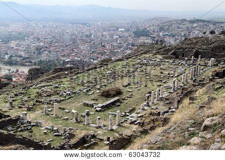 Columns In Bergama