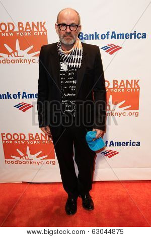 NEW YORK-APR 9: Recording artist Michael Stipe attends the Food Bank for New York City's Can Do Awards Dinner Gala at Cipriani Wall Street on April 9, 2014 in New York City.