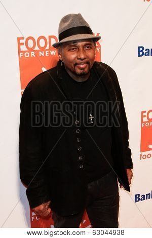 NEW YORK-APR 9: Recording artist Aaron Neville attends the Food Bank for New York City's Can Do Awards Dinner Gala at Cipriani Wall Street on April 9, 2014 in New York City.