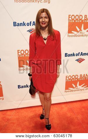 NEW YORK-APR 9: Actress Jill Hennessy attends the Food Bank for New York City's Can Do Awards Dinner Gala at Cipriani Wall Street on April 9, 2014 in New York City.