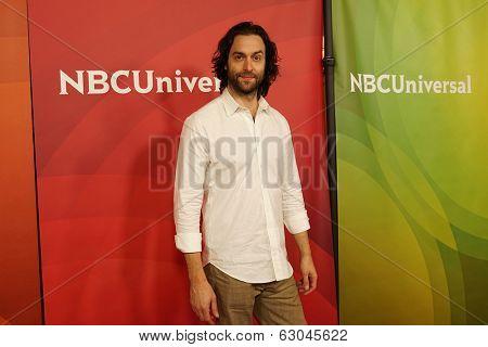 PASADENA - APR 8: Chris D' Ella at the NBC/Universal's 2014 Summer Press Day held at the Langham Hotel on April 8, 2014 in Pasadena, California