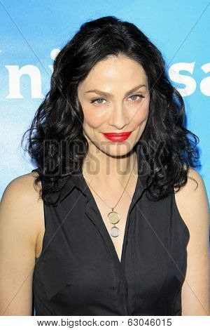 PASADENA - APR 8: Joanne Kelly at the NBC/Universal's 2014 Summer Press Day held at the Langham Hotel on April 8, 2014 in Pasadena, California