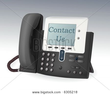 Phone with display vector