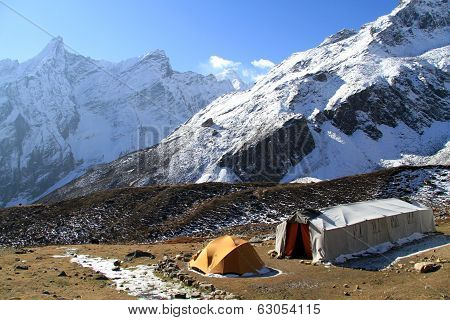 Camping Near Mount