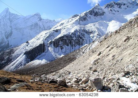 Slope Of Manaslu
