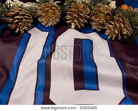 Number Ten Shirt And New Year Decoration