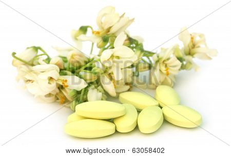 Moringa Flower With Pills