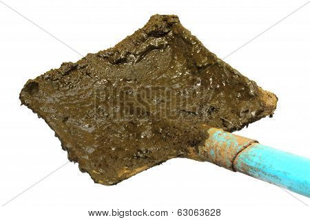 Shovel For Taking Raw Cow Manure