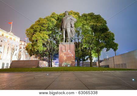 Chen Yi Statue