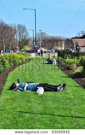 Stratford Upon Avon, Uk - March 29Th 2014 - A Popular Tourist Destination Owing Its Status As Birthp