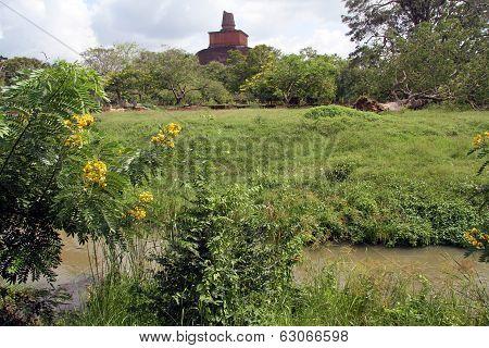 Brick Stupa