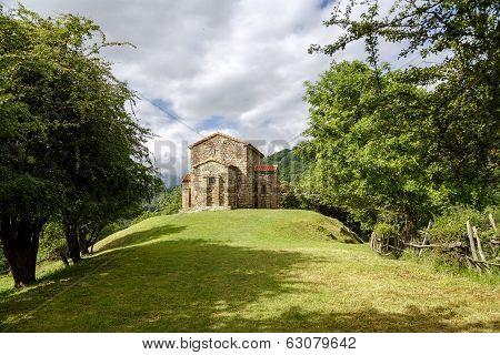 Church Of Santa Cristina De Lena Oviedo