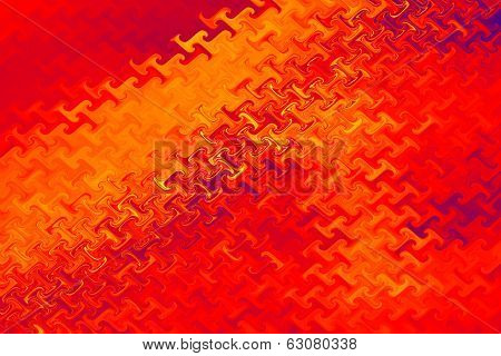 Red - Color Background and Abstract Art Patterns
