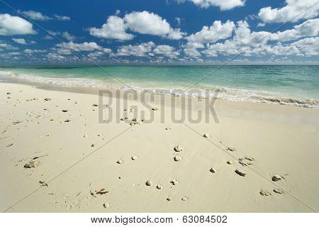 Freeport beach, Grand Bahama Island