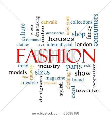 Fashion Word Cloud Concept