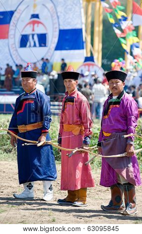 Buryat (mongolian) Archers