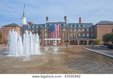 City Hall In Alexandria, Virginia