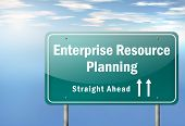 Highway Signpost Enterprise Resource Planning