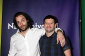 LAS VEGAS - APR 8:  Chris D'Ella, Brent Morin at the NBCUniversal Summer Press Day at Huntington Lan