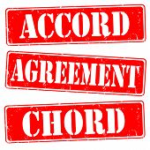 Accord,agreement,chord