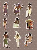 foto of king cobra  - Cartoon Pharaoh Stickers - JPG
