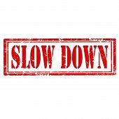 Slow Down-stamp