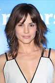 PASADENA - APR 8: Stephanie Szostak at the NBC/Universal's 2014 Summer Press Day held at the Langham