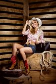 pic of cowgirl  - Young - JPG