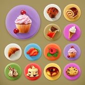 foto of fancy cakes  - Sweet and tasty - JPG