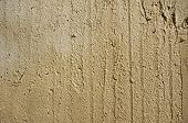 Wall surface wet plaster