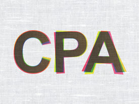 picture of cpa  - Business concept - JPG