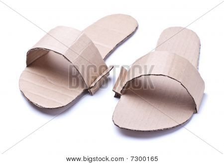 Anti-crisis Cardboard Shoes