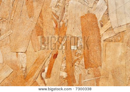 Particle Board For A Background