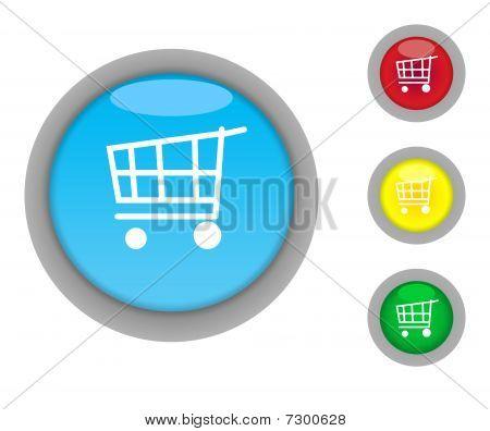 Shopping Cart Button Icons
