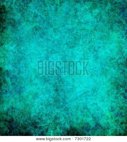 Ocean Colored Grunge Abstract Background