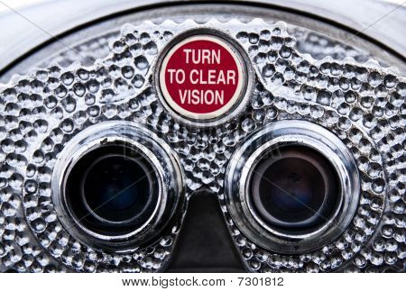 Turn To Clear Vision - Pay Binoculars