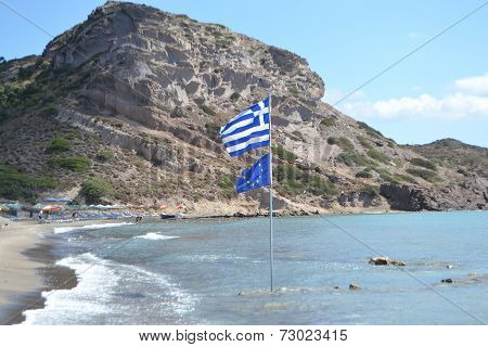 Coast Of The Aegean Sea